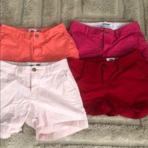 Old Navy Colored Shorts Bundle
